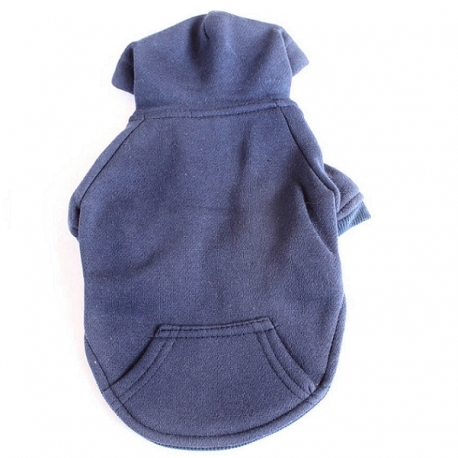 Sweat pour chien bleu marine