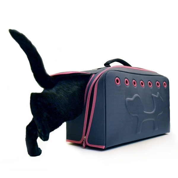 sac de transport pour chat en avion sac de transport chat oh pacha. Black Bedroom Furniture Sets. Home Design Ideas