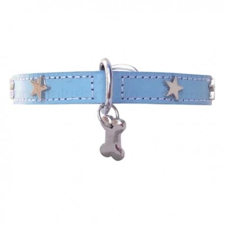 Collier pour chien Little Star Bleu