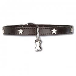 Collier pour chien Little Star Noir