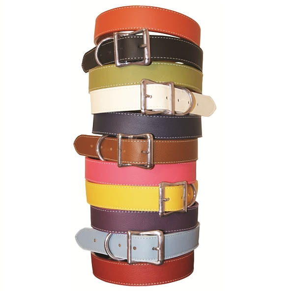 collier pour gros chien coloris blanc colliers pour. Black Bedroom Furniture Sets. Home Design Ideas