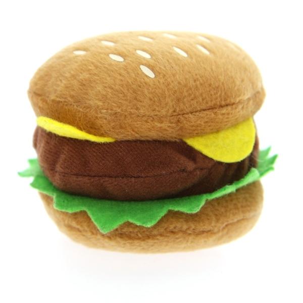 jouet pour chien en forme de hamburger qui fait du bruit oh pacha. Black Bedroom Furniture Sets. Home Design Ideas