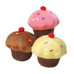 Jouet pour chien cupcake senteur vanille