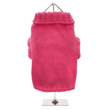 Pull pour chat rose