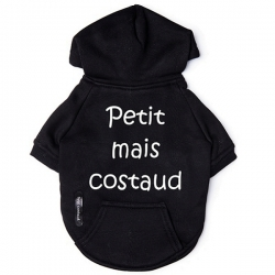 Sweat pour chien costaud black