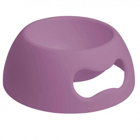 Gamelle pour chien et chat coloris violet incassable
