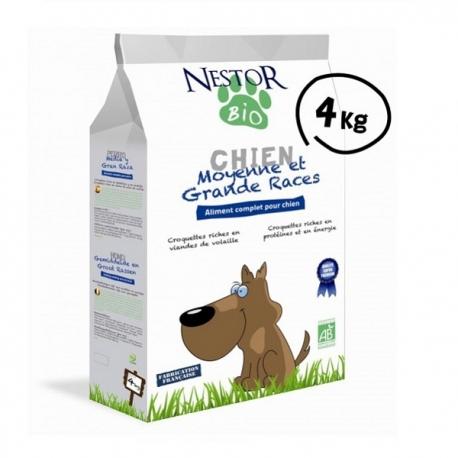 Croquettes Bio pour chien de moyenne et grande race