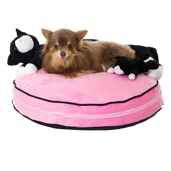 couffin pour chien et chiot rose canap pour chien oh pacha. Black Bedroom Furniture Sets. Home Design Ideas