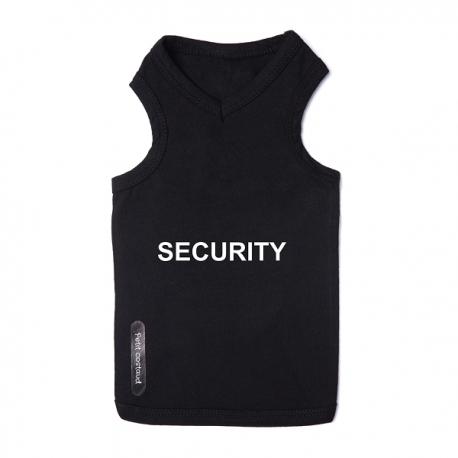 t-shirt pour chien SECURITY
