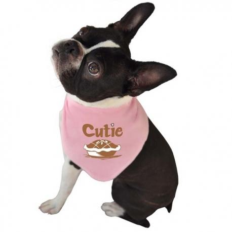 Bandana pour chien cutie pie