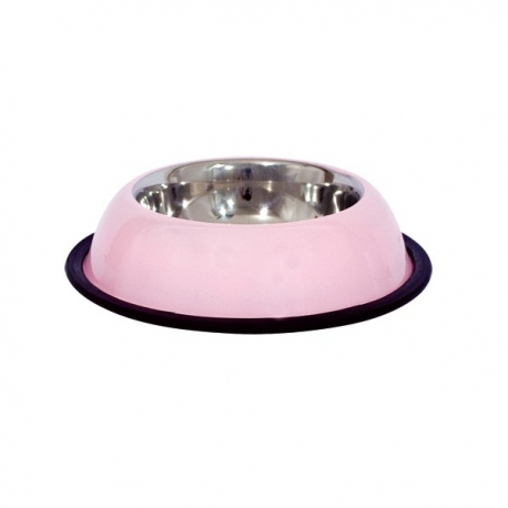 Gamelle pour chat en inox