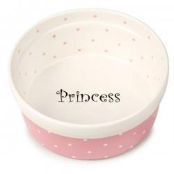 Gamelle pour chien en céramique Princess