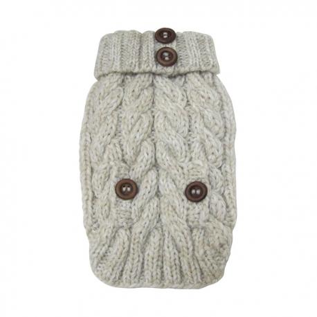 pull pour chien de qualit pull en laine pour chien oh pacha. Black Bedroom Furniture Sets. Home Design Ideas