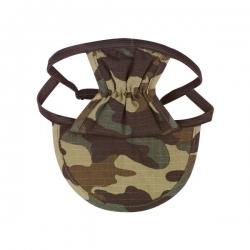 Casquette pour chien camouflage