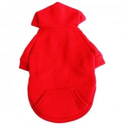 Sweat pour chien rouge