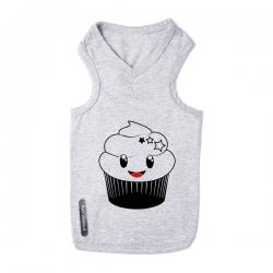 T-shirt pour chien Cupcake