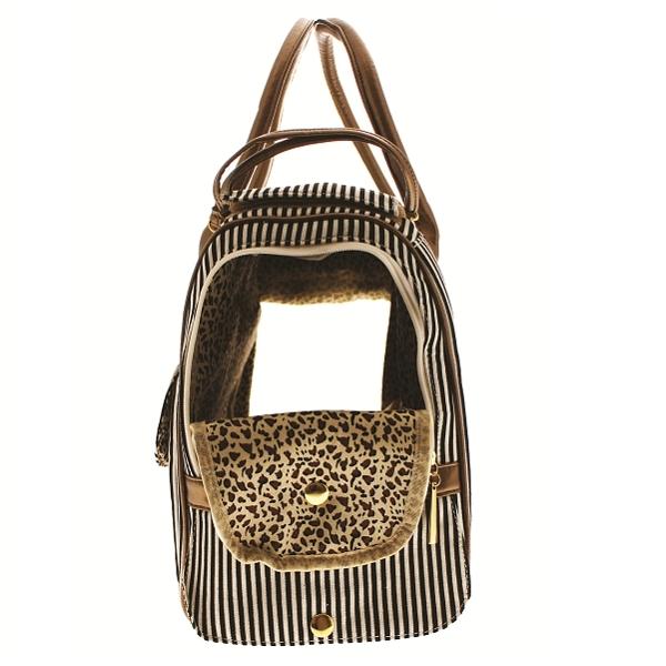sac de transport pour chien et chat coloris beige en toile oh pacha. Black Bedroom Furniture Sets. Home Design Ideas