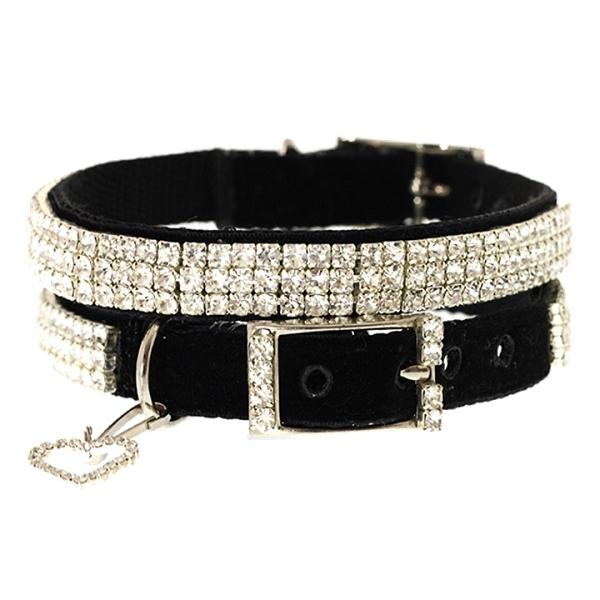collier pour chien swarovski colliers pour chien oh pacha. Black Bedroom Furniture Sets. Home Design Ideas