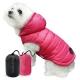 Doudoune pour chien réversible rose