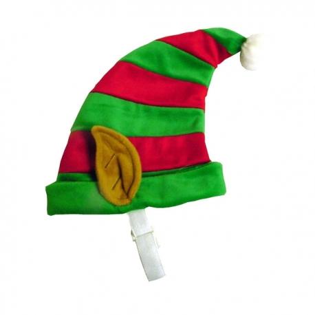 Bonnet pour chien Elfe du Père Noël