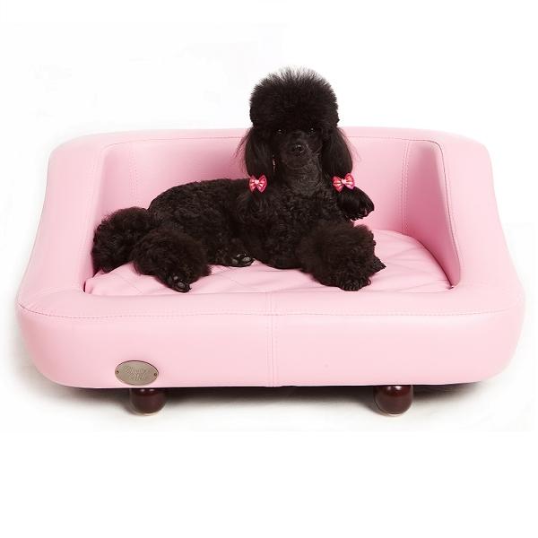 Canap pour chien rose de luxe sofas chiens oh pacha for Canape pour chien