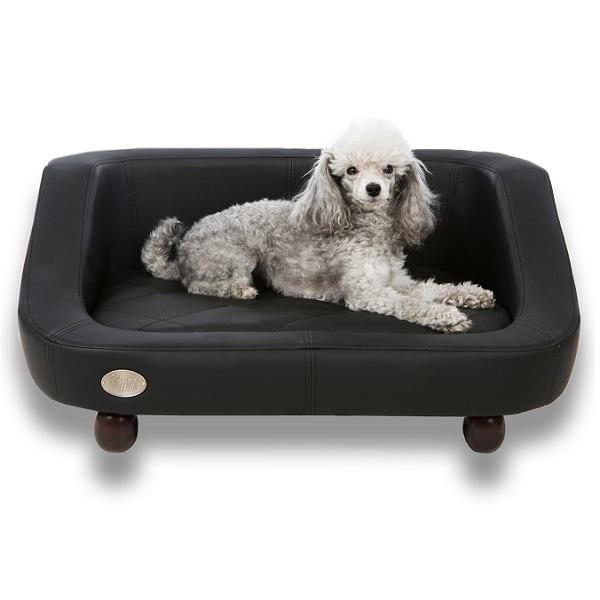 Canap noir moderne pour chien canap luxe pour chien for Repulsif chat interieur canape