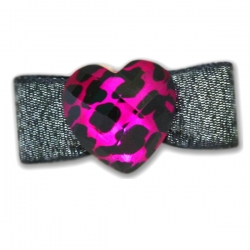 Barrette pour chien Rock and Love
