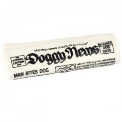 Jouet pour chien journal en latex