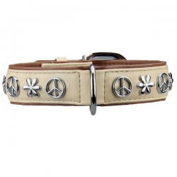 Collier pour chien Peace and Love