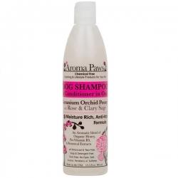 Shampooing anti-démangeaison pour chien à l'orchidée