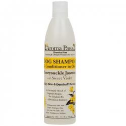 Shampooing antipelliculaire pour chien au jasmin