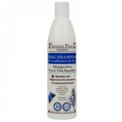 Shampooing anti puce et tique pour chien au romarin