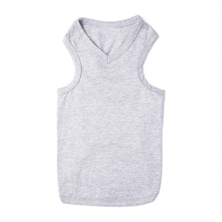 T-shirt pour chien gris