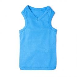 T-shirt pour chien bleu