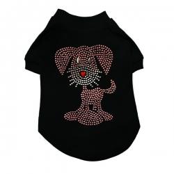 T-shirt pour chien Glitz
