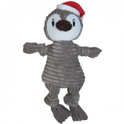 Jouet pour chien pingouin de Noël