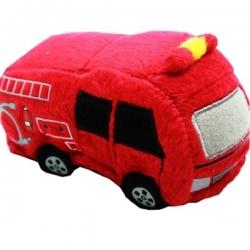 Peluche pour chien camion de pompier