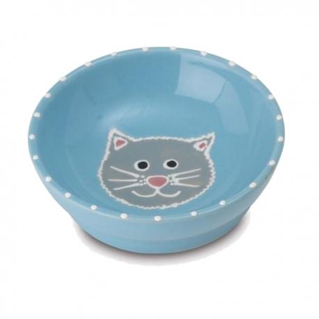 Gamelle pour chat My Love bleue