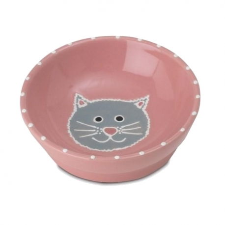 Gamelle pour chat My Love rose
