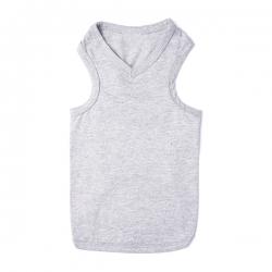 T-shirt pour chat gris