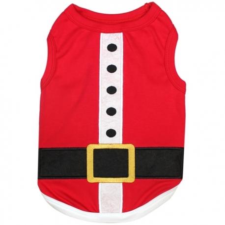 T-shirt pour chien Père Noël
