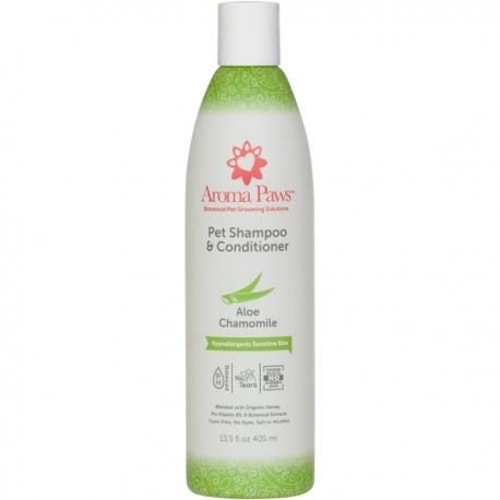Shampooing hypoallergénique pour chien à l'aloe vera