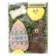 Coffret de biscuits pour chien Joyeuses Pâques