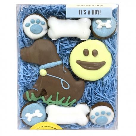 Coffret de biscuits pour chien petit gourmand