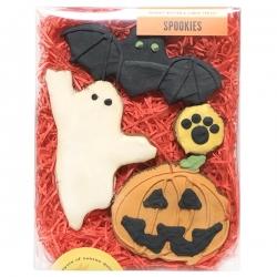 Coffret de biscuits pour chien Halloween