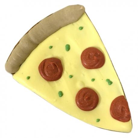 Biscuit pour chien pizza