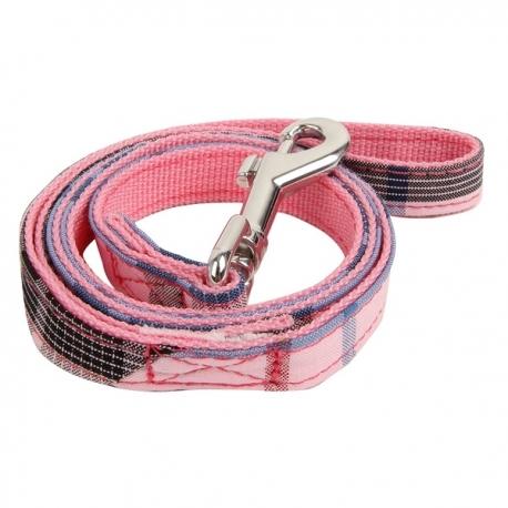 Laisse pour chien Kensington Puppia rose