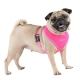 Harnais pour chien rose fluo Puppia