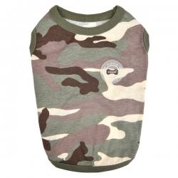T-shirt pour chien camouflage Puppia