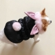 Doudoune pour chien Pan-Pan noire